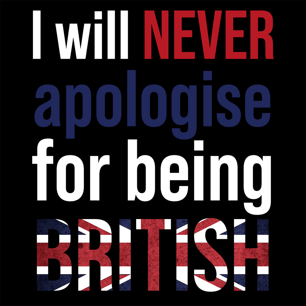I Will Never Apologise T Shirt