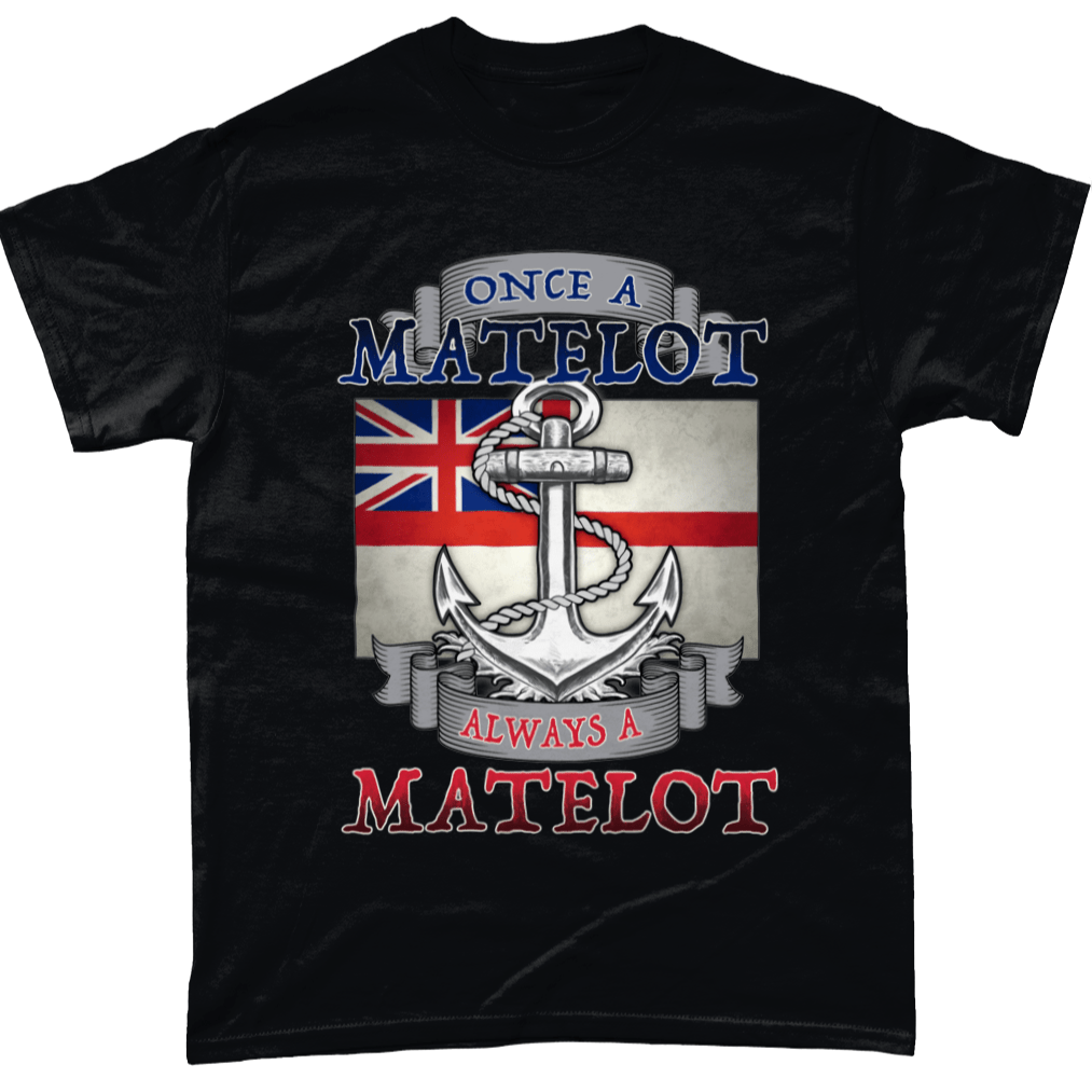 Black / Small Once A Matelot T Shirt