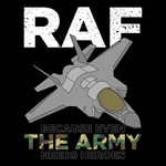 RAF - Even the Army Need Heroes T Shirt
