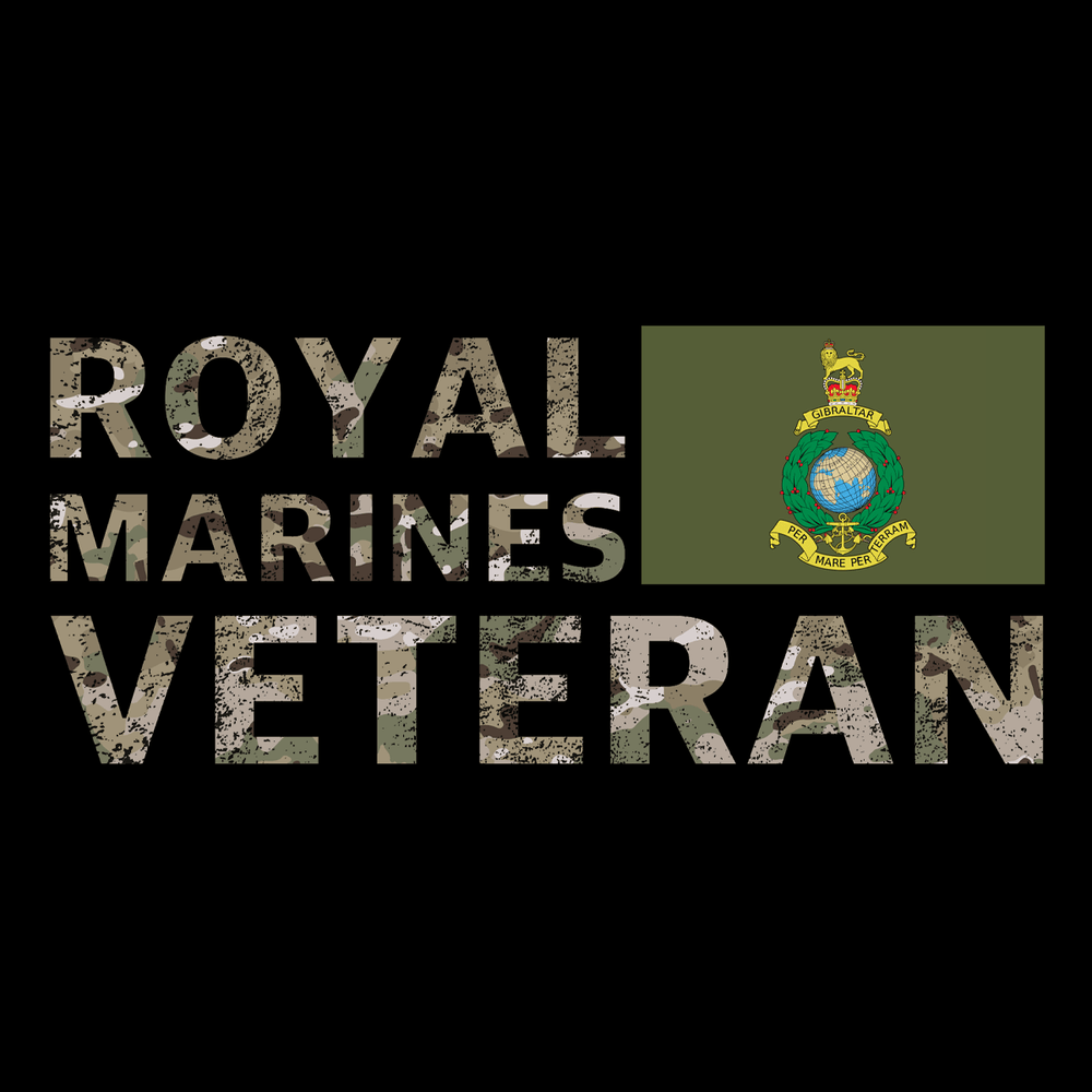 Royal Marines Veteran T Shirt