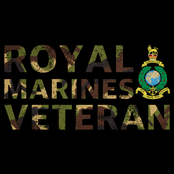 Royal Marines Veteran T Shirt (DPM)