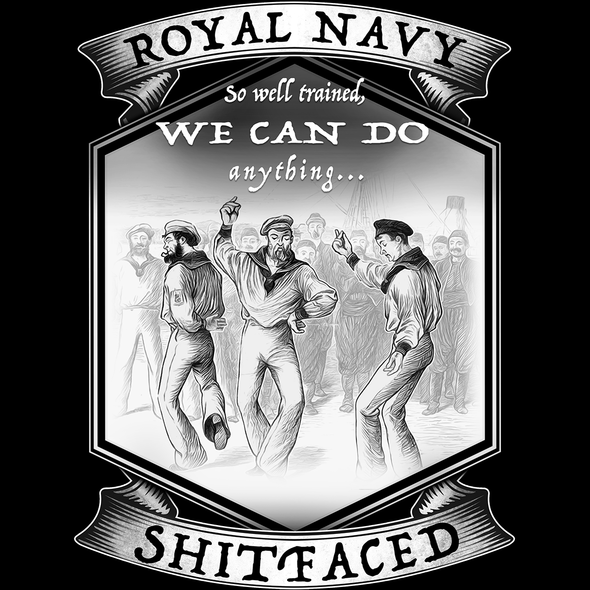 Royal Navy Dancing Team T Shirt