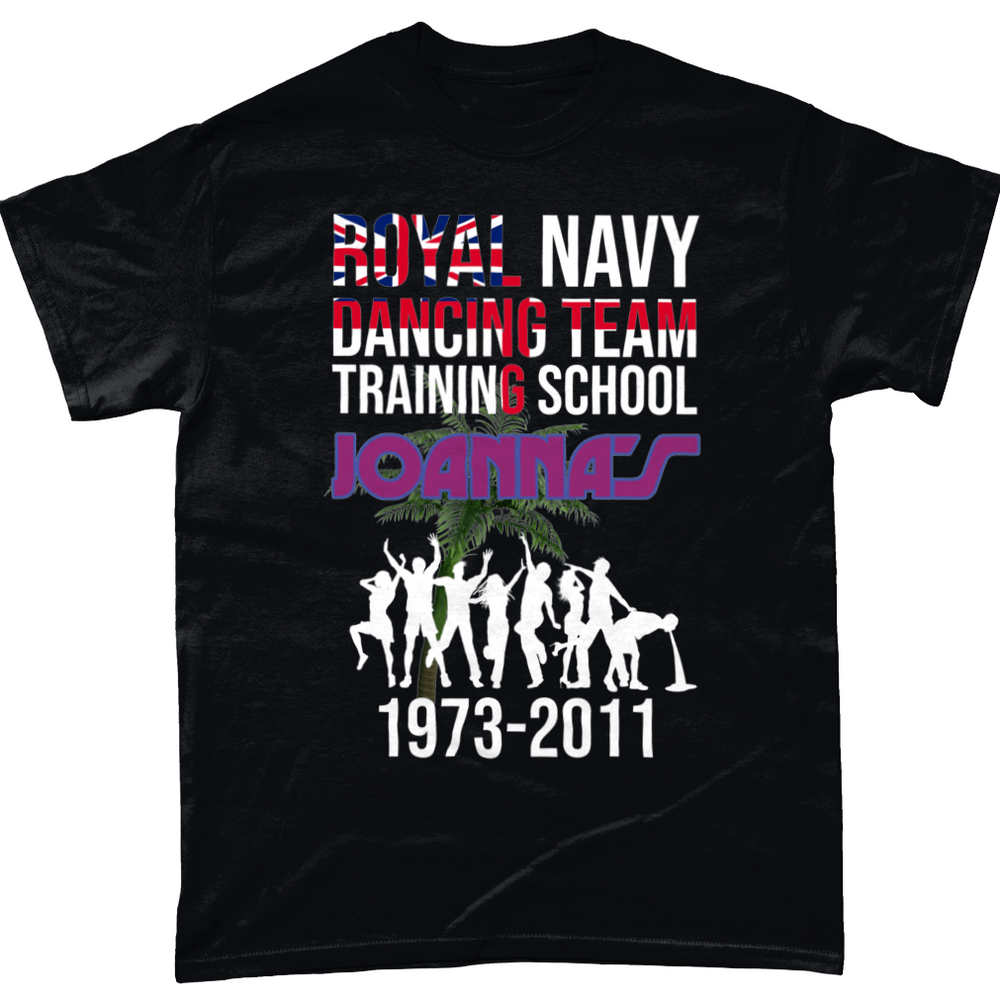 Black / Small Royal Navy School Of Dancing Unisex T Shirt