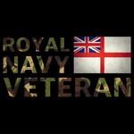 Royal Navy Veteran T Shirt (DPM)