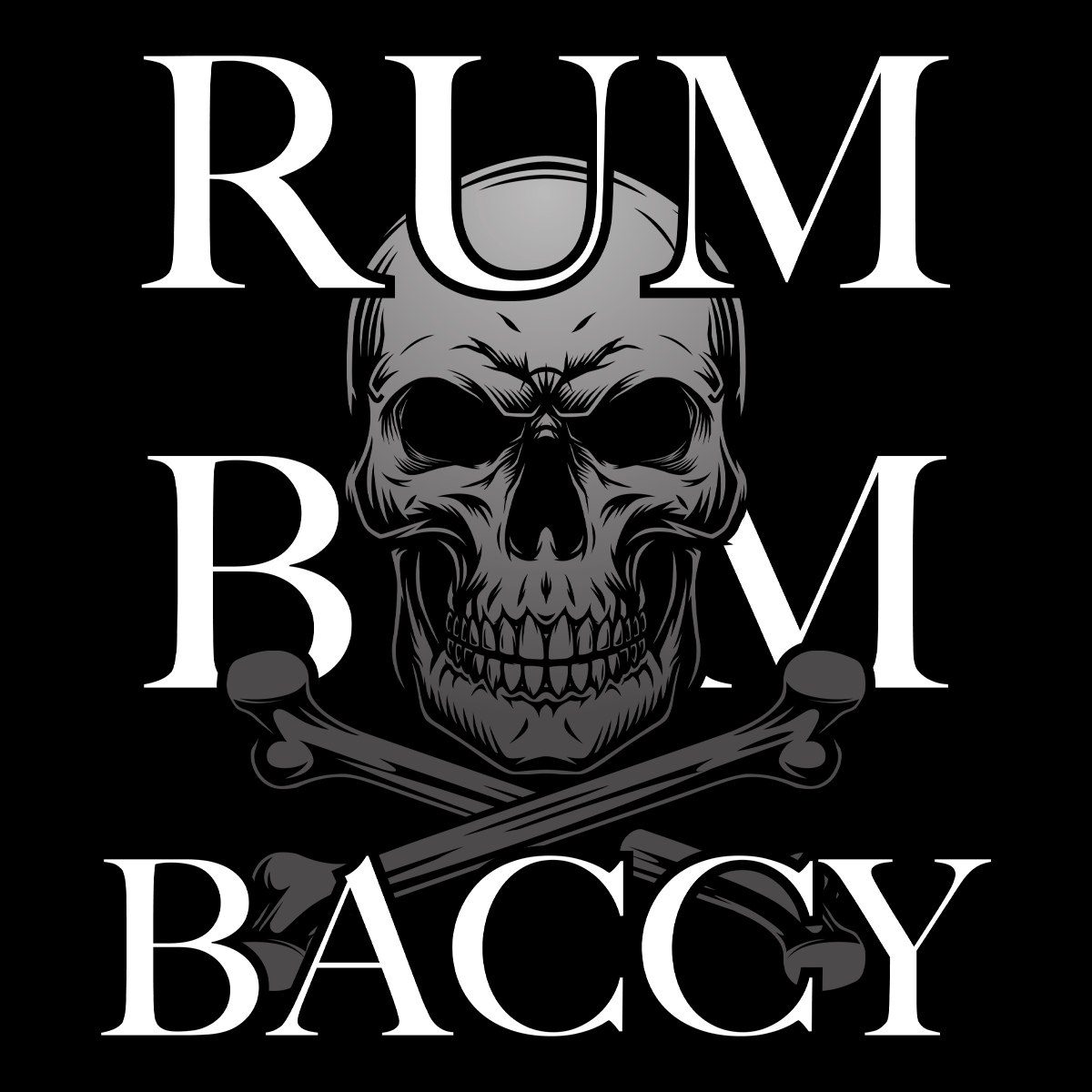 Rum Bum And Baccy Unisex T Shirt