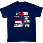 Navy / Small Sun Over Yardarm T Shirt