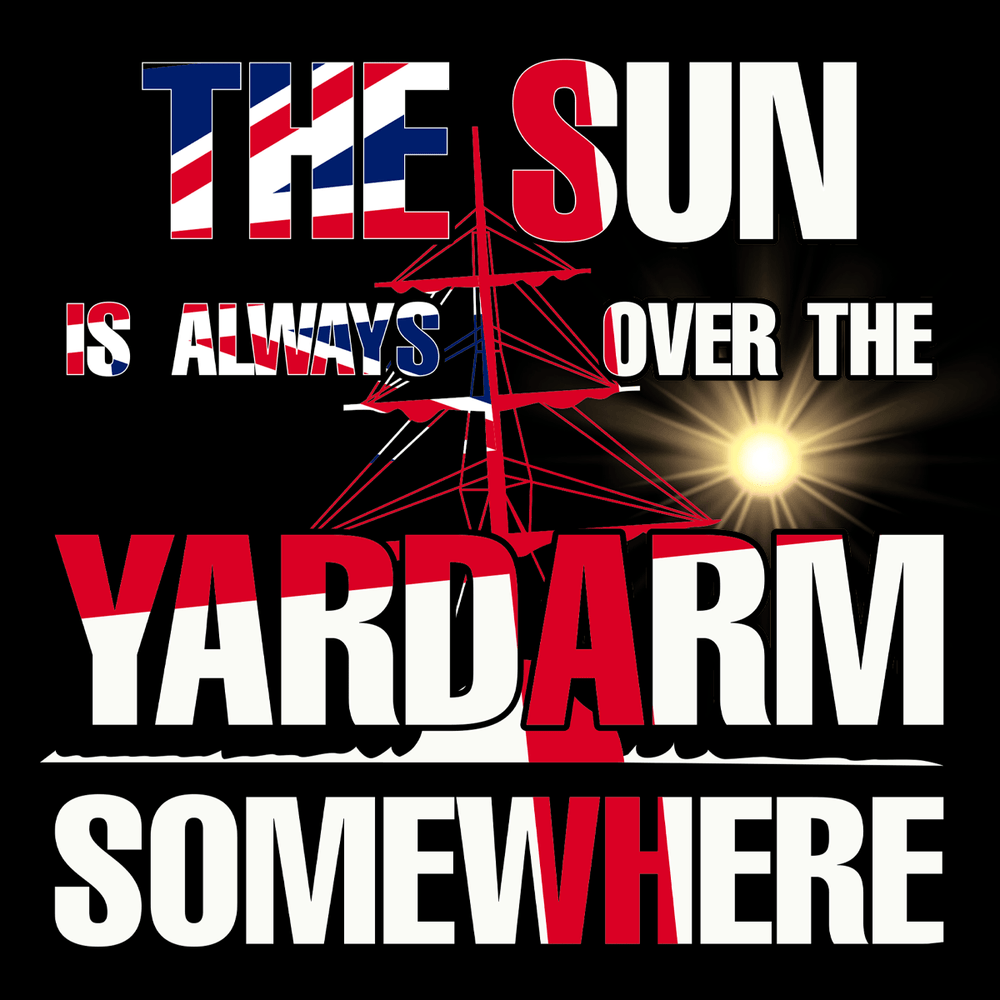 Sun Over Yardarm Unisex T Shirt