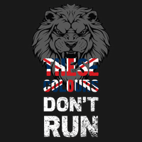 These Colours Dont Run T Shirt