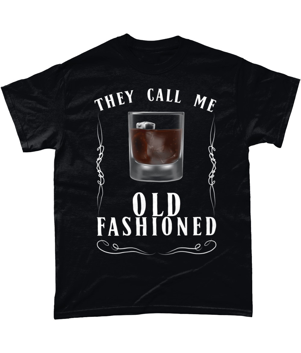 Black / Small They Call Me Old Fashioned Unisex T Shirt