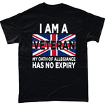 Veteran Oath No Expiry T Shirt