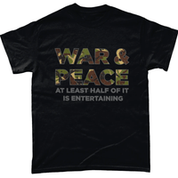 Black / Small War And Peace T Shirt