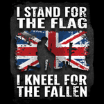 Kneel For The Fallen Unisex T Shirt
