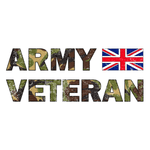 Ceramic / White Army Veteran Mug (DPM)