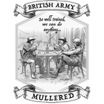 Ceramic / White British Army Well Trained Mug