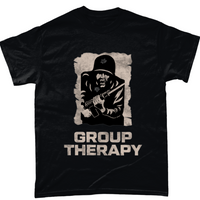 Black / Small Group Therapy Unisex T Shirt