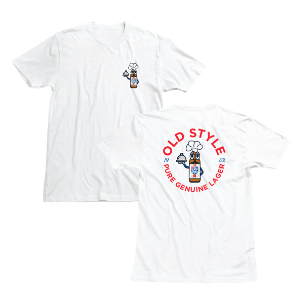 CHEF MAN COSTUME TEE - WHITE