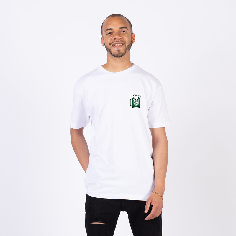 GREEN RIVER TEE - WHITE