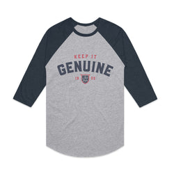 OLD STYLE GENUINE BASEBALL RAGLAN