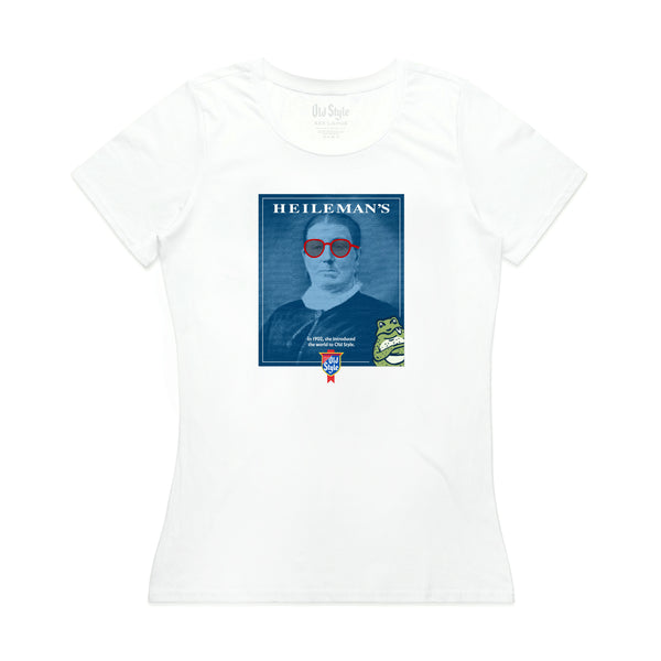 THE FOUNDER WOMEN'S TEE- WHITE