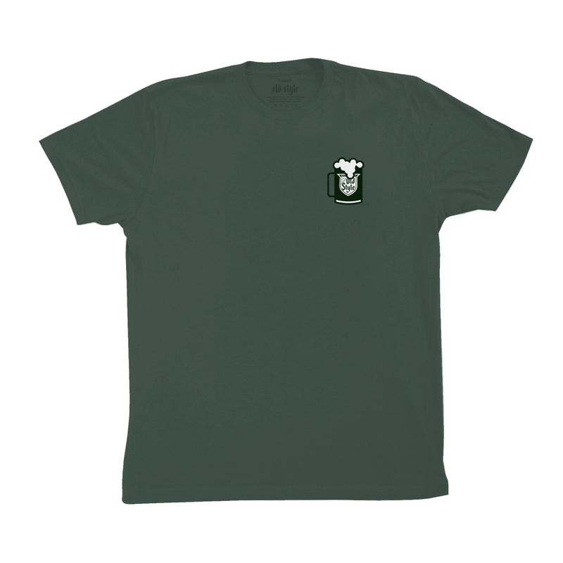 GREEN RIVER TEE - OLIVE