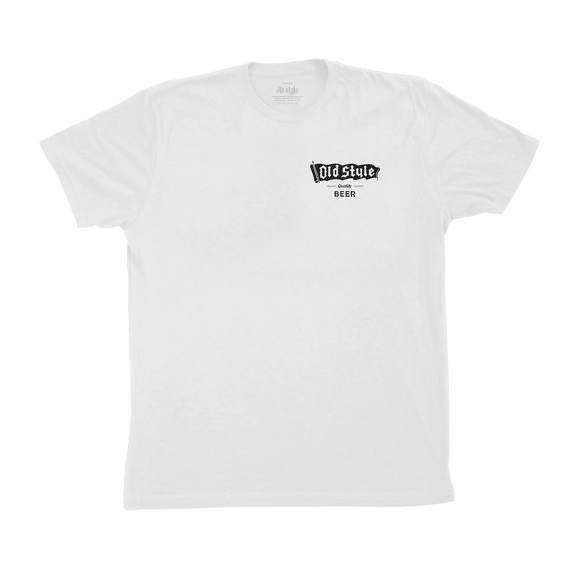 WHITE SHORT SLEEVED TEE