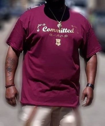 Committed/No Inconsistencies Short Sleeve- Adult Big and Tall