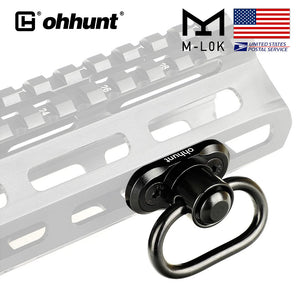 ohhunt M-Lok Sling Mount Swivel Adapter With Quick Detach Release