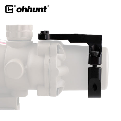 Ohhunt Tactical Ruggedized Miniature RMR Red Dot Reflex Sight Mount Base RM38 For Most Compact 3.5x 4x 5.5x Rifle Scopes