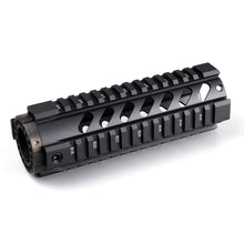"Load image into Gallery viewer, Ohhunt Front End Cap & Tactical 7"" 10"" 12"" 15""  Free Float Quad Picatinny Rail Handguard Install On Standard Carbine Length AR15 M16"