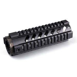 "Ohhunt Front End Cap & Tactical 7"" 10"" 12"" 15""  Free Float Quad Picatinny Rail Handguard Install On Standard Carbine Length AR15 M16"