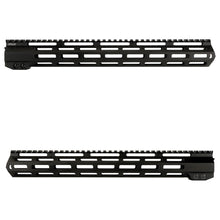 "Load image into Gallery viewer, ohhunt Tactical AR15 Free Float M-Lok Handguard 7"" 9"" 10"" 12"" 13.5"" 15"" 17'' Picatinny Rail with Steel Barrel Nut for Scope"