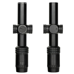 ohhunt Guardian 1-5X24 Hunting Thin Edge Riflescopes Glass Etched Reticle RG Illumination Turrets Lock Compact Shooting Scope