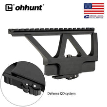 Load image into Gallery viewer, ohhunt Quick Detach System AK Rail Scope Mount Base Picatinny Side Mounting