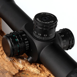 ohhunt FFP 4.5-18X44 SFIR First Focal Plane Hunting Optical Rifle Scopes Side Parallax R/G Glass Etched Reticle Lock Reset Scope