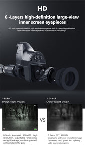 PARD NV007 HD Digital Night Vision With 45mm Adapter Scope Cameras FedEx Free Shipping