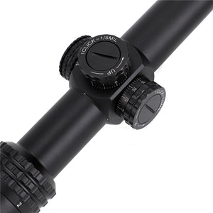 ohhunt Guardian 1-6X24 IR Hunting Riflescopes Compact Glass Etched Reticle llluminate Turrets Lock Reset Tactical Optical Sight