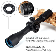 Load image into Gallery viewer, ohhunt MC-Z 4.5-18X44 FFP First Focal Plane Hunting Optical Rifle Scope Side Parallax Z1000 Glass Etched Reticle Lock Reset Scope