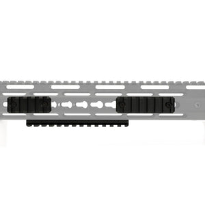 "ohhunt 5 Slot 7 Slot 13 Slot 2.16"" 2.95"" 5.31"" Picatinny Weaver 1913 Rail Section for Keymod Handguard Mount Pack of 3 Aluminum"
