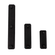 "Load image into Gallery viewer, ohhunt 5 Slot 7 Slot 13 Slot 2.16"" 2.95"" 5.31"" Picatinny Weaver 1913 Rail Section for Keymod Handguard Mount Pack of 3 Aluminum"