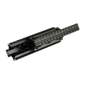 ohhunt Universal Tactical Quad Picatinny Rail Mount AK ROMANIAN Handguard 2-Piece Construction