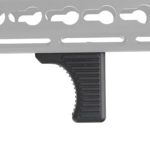 ohhunt Tactical Hunting Keymod Rail Handguard Hand Stop Handstop Barricade Rest Standard Interface Aluminum Black Tan