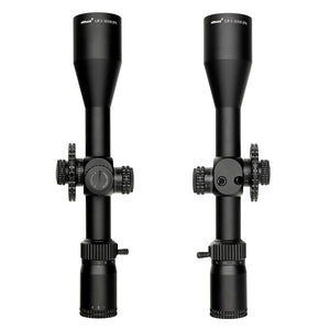 ohhunt LR 5-30x50 SFIR Hunting Scope Tactical Glass Etched Reticle Red Illumination Side Parallax Turrets Lock Reset