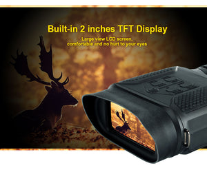 ohhunt 7X31 Digital Night Visions Binoculars Hunting Nightvision Built-in IR Illuminator Photo Video Recorder 2 Inch TFT Display
