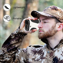 Load image into Gallery viewer, ohhunt Laser Rangefinders 6X 600M Hunting Rangefinder Monocular Multifunction LRF Hunt Range Finder Distance Meter Echo Sounder
