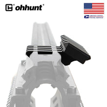 Load image into Gallery viewer, ohhunt 5 units Low Profile 5 Slot 30 Degree Offset Picatinny Weaver Rail Mount For Sight Laser Flashlight