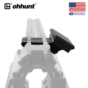 ohhunt 5 units Low Profile 5 Slot 30 Degree Offset Picatinny Weaver Rail Mount For Sight Laser Flashlight