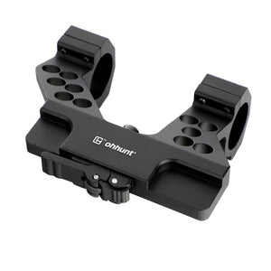 ohhunt Elite Defense Quick Detach System AK Side Rail Scope Mount with Integral 25.4mm 30mm Ring For AK47 AK74 Black