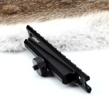 Load image into Gallery viewer, ohhunt Standard AR15 M4 M16 Carry Handle Rail Mount 12 Slots Hunting 20mm Picatinny Weaver Rail Scope Mounts Base