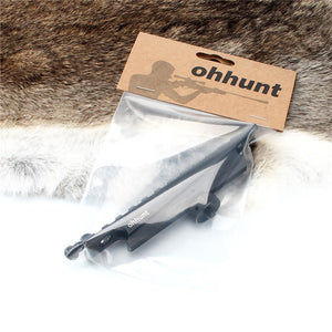 ohhunt Standard AR15 M4 M16 Carry Handle Rail Mount 12 Slots Hunting 20mm Picatinny Weaver Rail Scope Mounts Base