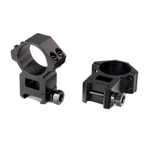 ohhunt 30mm 2PCs High Profile Picatinny Weaver Rifle Scope Mount Rings Hunting Tactical Accessories